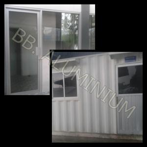 Pintu, Jendela Aluminium