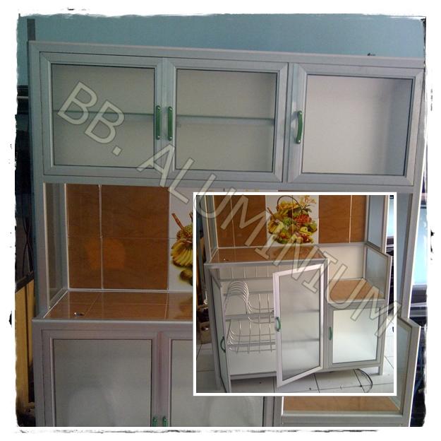 Rak Piring Kitchen Set: Aluminium Kusen