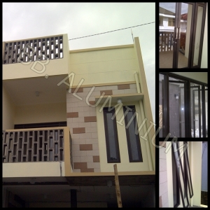 Kusen Aluminium, Jendela Aluminium, Pintu Aluminium